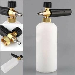 "1/4"" Snow Foam Lance Cannon Washer Gun Soap Pressure Car Foa"