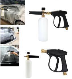 """1/4"""" Snow Foam Washer Gun Car Wash Soap Lance Cannon Spray P"""