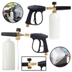 Pressure Snow Foam Washer Jet Car Wash Strong Lance Soap Spr