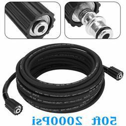 15m 2000psi high pressure washer hose m22