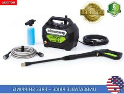 Greenworks 1700-PSI 1.2-GPM Cold Water Electric Pressure Was
