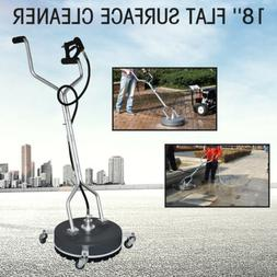 """18"""" Flat Surface&Concrete Cleaner Pressure Washer 4000PSI/27"""