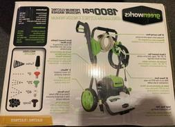 Greenworks 1800-PSI 1.1-Gallon-GPM Cold Water Electric Press