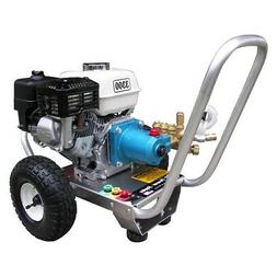 3300 PSI 2.5GPM Honda GX Cold Water Gas Pressure Washer w/ C