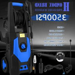 2.8GPM 3500PSI Electric Pressure Washer Cold Water Cleaner A