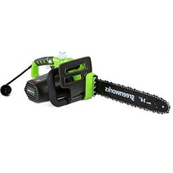 Greenworks 20222 9 Amp 14 in. Electric Chainsaw