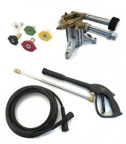 2800 PSI Upgraded AR PRESSURE WASHER PUMP & SPRAY KIT - Simp