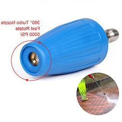 PENSON & CO. 3.0 GPM Turbo Rotary Rotating Nozzle for Pressu