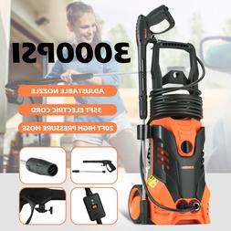 3000 PSI 2.4 GPM Electric Pressure Washer Cold Water Cleaner