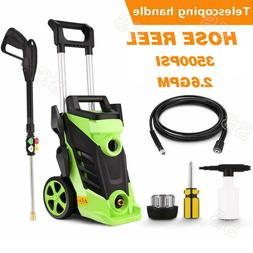 3500PSI 2.6Gpm Electric Pressure Washer Heavy Duty High Powe