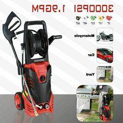 3000PSI 1.9GPM Electric Pressure Washer 5 Nozzles Built-in S