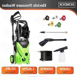 3500PSI High Power Water Electric Pressure Washer 1800W 2.6