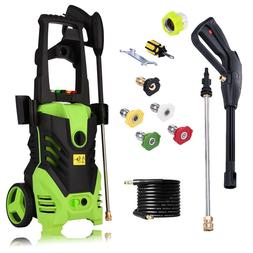 Heavy Duty 3000PSI Electric High Pressure Washer 1.8GPM Jet