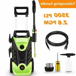 3500PSI 2.6GPM Electric Pressure Washer High Power Home Wate