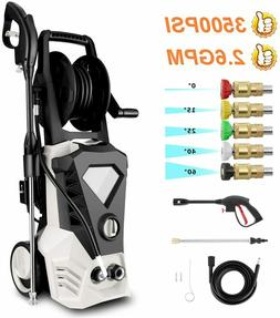 3500PSI 2.6GPM Electric Pressure Washer High Power Water Cle