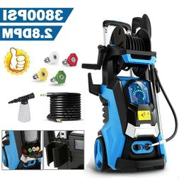3800PSI 2.8GPM Electric Pressure Washer Water Cleaner High P