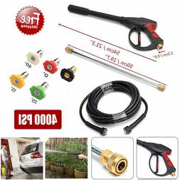 High Pressure/Power Washer Spray Gun, Wand/Lance&Nozzle Kit
