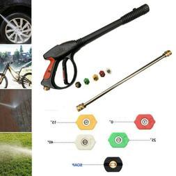 4000psi M22 High Pressure Washer Gun Power Spray Gun w/ Wand