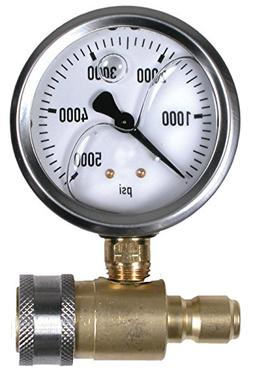 "5,000 PSI 2.5"" Pressure Gauge Test Set with QC's"