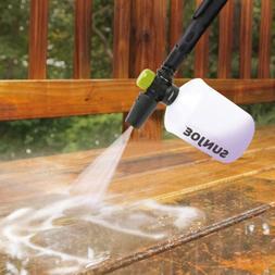 6 26-Oz Adjustable Snow Foamer Cannon w/Adapters Twist Knob