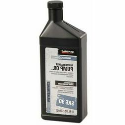 Generac 6656 Pressure Washer Pump Oil SAE 30, 20-Ounce