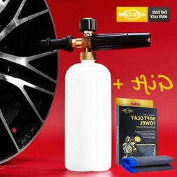 Autocare 1L Snow Foam Lance Cannon Soap Gun For Pressure Was