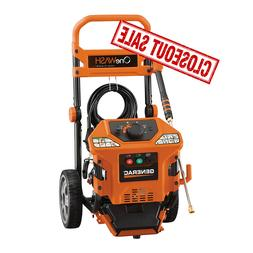 Generac 6603 3,100 PSI OneWash, Gas Powered, Pressure Washer
