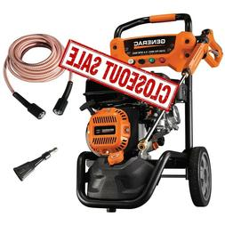Generac Gas Pressure Washer 3100 PSI Axial Cam Pump Ultra-Fl
