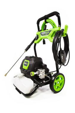 Greenworks 1950 PSI 1.2 GPM Open Frame Pressure Washer -GPW1