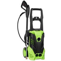Premium 3000PSI 1.7GMP Electric Pressure Power Washer w/ Hos