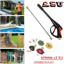 SPRAY GUN WAND / LANCE & TIPS Power Pressure Washer Water Pu