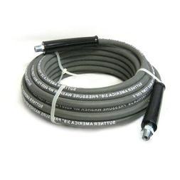 """Suttner B3V00382 100' Gray 4000 PSI 3/8"""" Pressure Washer Hos"""