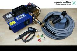 AR Blue Clean AR630TSS Pressure Washer 2.1 GPM Complete Deta