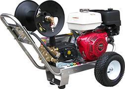 Belt-Drive Pressure Washer with Honda GX390 4,000 PSI 4.0 GP