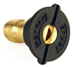 "Raptor Blast 1/4"" Brass Quick Connect 65 Degree Soap Nozzle"