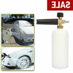 "Car Snow Foam Lance Cannon w/ 1/4"" Quick Connect Adapter for"