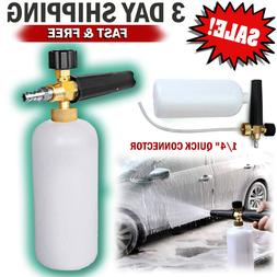 Car Wash Jet Pressure Washer Adjustable Sprayer Snow Foam Ca