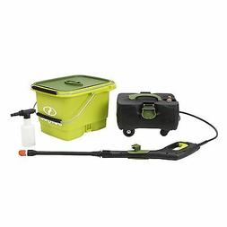 Sun Joe Cordless 1160 PSI / .79 GPM Water Pressure Power Was