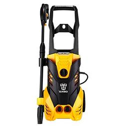 DEKOPRO 3000 PSI 1.7 GPM Electric Pressure Washer,High Press