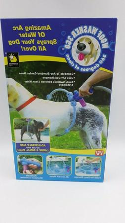 Dog Washer Pet Cleaner Water Spray Sprayer Adjustable Size,