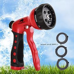 AvimaBasics Best Premium Durable Garden Hose Nozzle – Hand