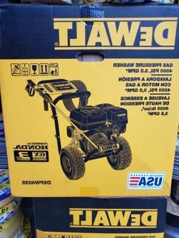 Dewalt DXPW4035 4000psi, 3.5 GPM Gas Pressure Washer - BRAND