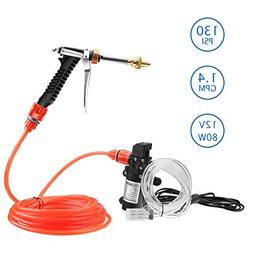 Electric Car Washer kit, 12 Volt Portable High Pressure Wate
