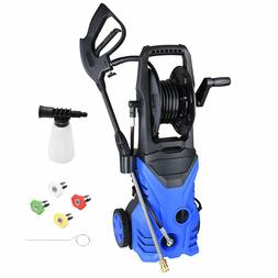 electric power pressure washer with 4 nozzles