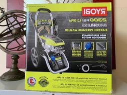 RYOBI Electric Pressure Washer 2,300 PSI Cord Lock Quick Con
