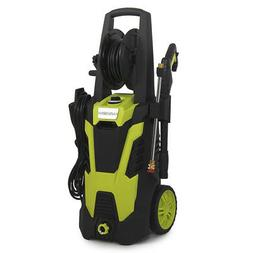 Electric Pressure Washer w/Hose Reel Kit and 5 Quick-Connect