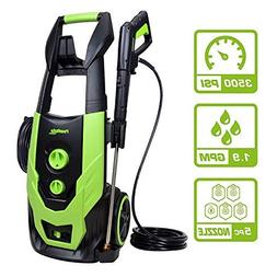PowRyte Elite 3500 PSI 1.90 GPM Electric Pressure Washer, El