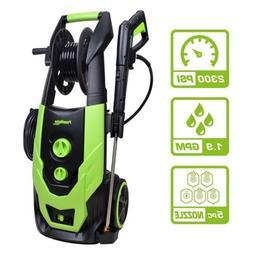 PowRyte Elite 2300 PSI 1.90 GPM Electric Pressure Washer, Po