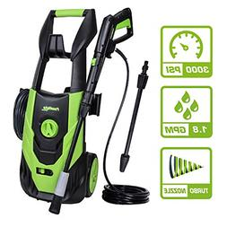 PowRyte Elite 3000 PSI 1.80 GPM Electric Pressure Washer, El