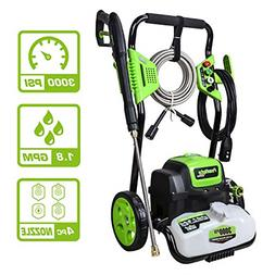 PowRyte Elite 3000PSI 1.8GPM Electric Pressure Washer, Elect
